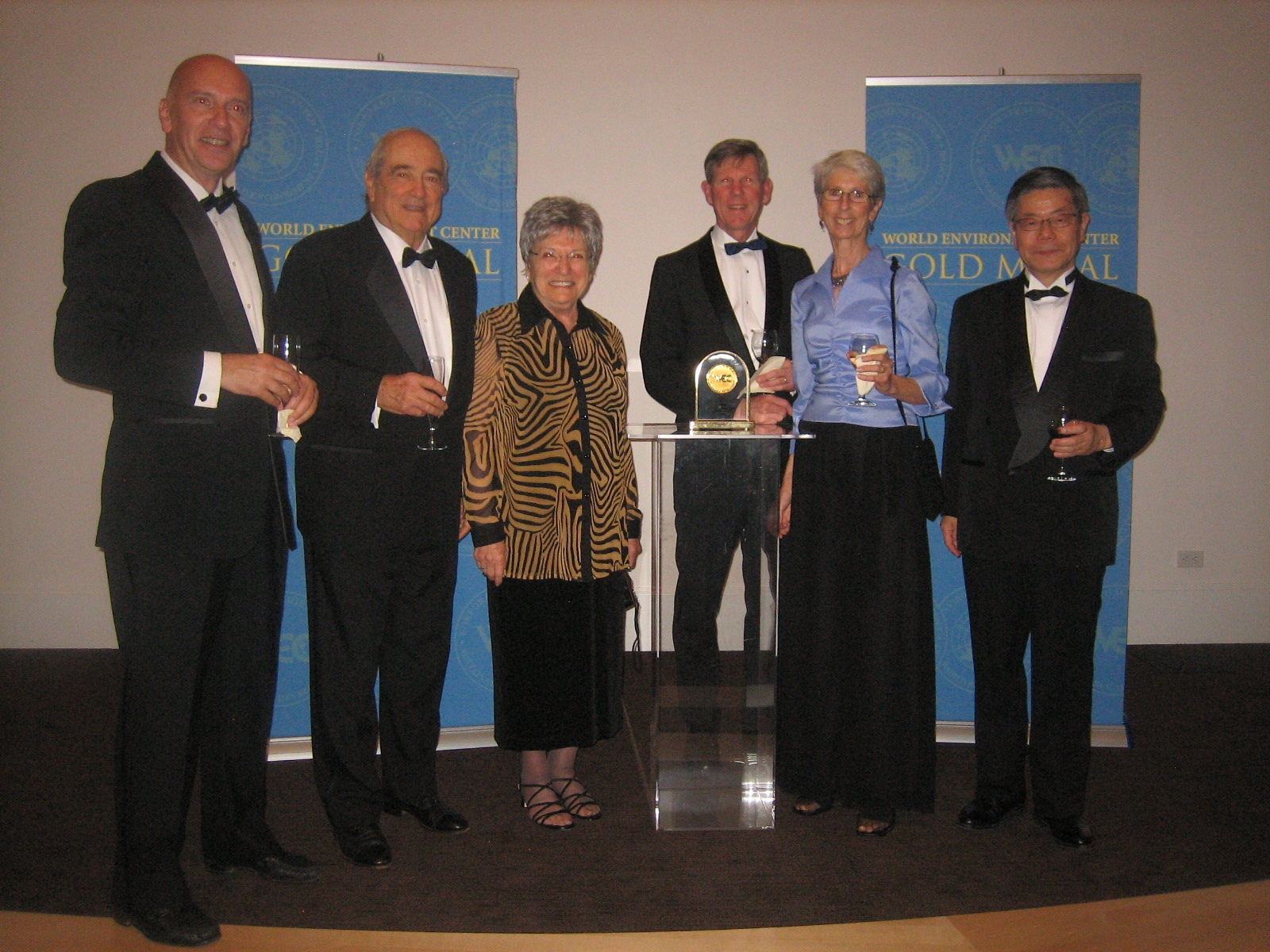 The  Jury of the 2011 WEC Gold Medal Award for International Achievement in Sustainable Development presented to Nestle S.A. on May 19, 2011 at WEC's 27th Annual Gold Medal Gala